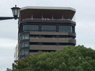 広島の新しい観光名所「おりづるタワー」は、高所恐怖症の人には無理かもしれません!