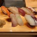 エキエバル「あじろや」で回らない寿司をカウンターで食べよう!